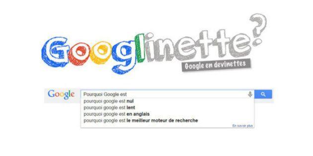 Googlinette, le jeu de devinettes sur les recherches