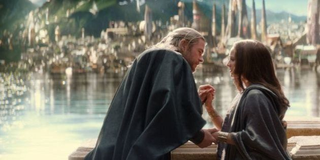 Thor 2: Natalie Portman n'a pas embrassé Chris