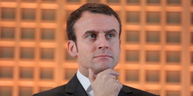 Notaires: Emmanuel Macron reconnaît s'être