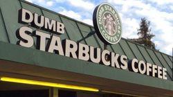 À peine ouvert, le Starbucks parodique a été contraint de