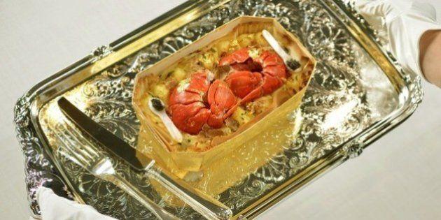 Le chef britannique Charlie Bigham met au point le plat cuisiné le plus cher au