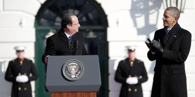 Anglais: Hollande s'en sort mieux que Barack Obama en français, même pour les petites