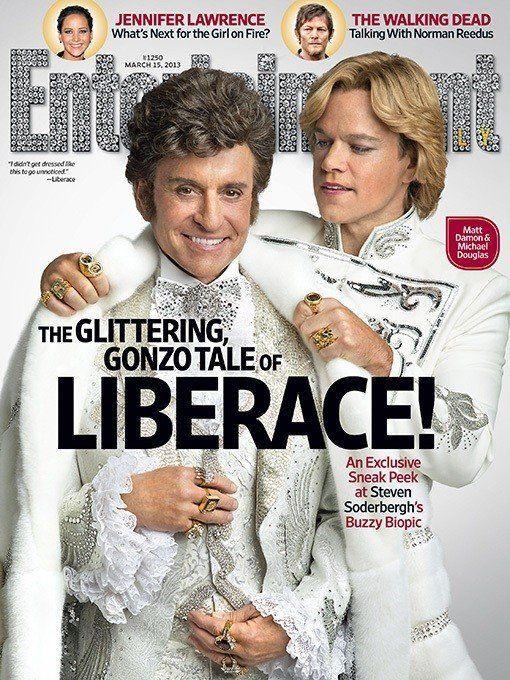 VIDÉOS. Matt Damon et Michael Douglas en icônes gays dans Behind The Candelabra, le prochain film de...