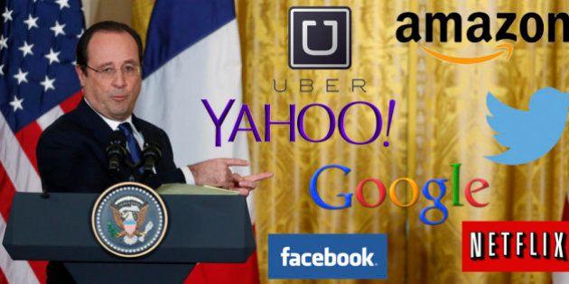 Silicon Valley: Hollande n'a pas que des amis