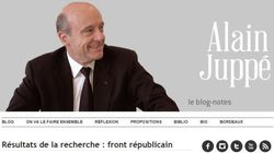 Juppé et le Front républicain, une histoire