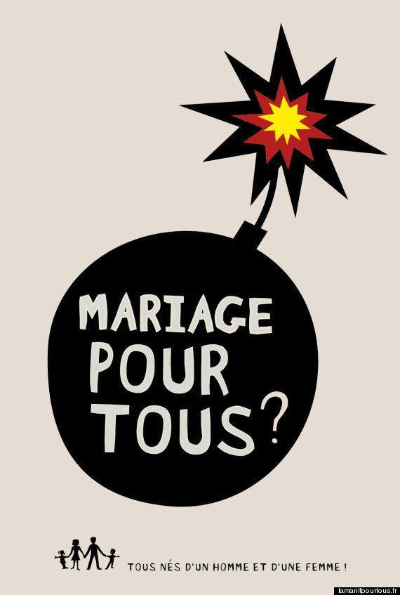 Mariage gay : Les affiches polémiques du collectif La Manif Pour