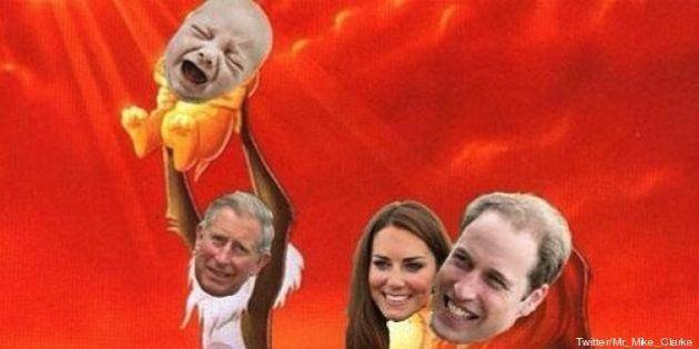Royal baby sur le web : en attendant, le web s'est bien