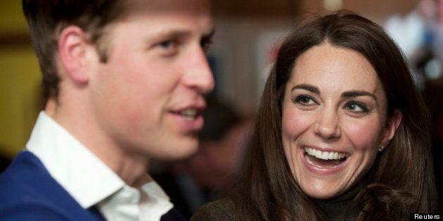 William et Kate parents :