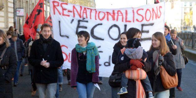 Rythmes scolaires : la grève des enseignants peu suivie, le texte UMP