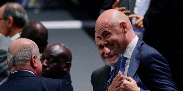 Gianni Infantino a été élu président de la Fifa au second