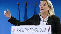 Le Front national de Marine Le Pen confirme son