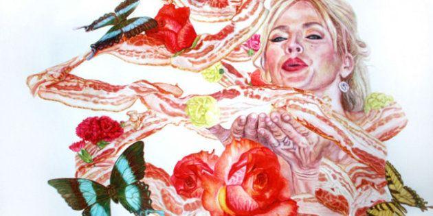 PHOTO. 15 peintures impressionnantes de bacon. Pas le peintre, la