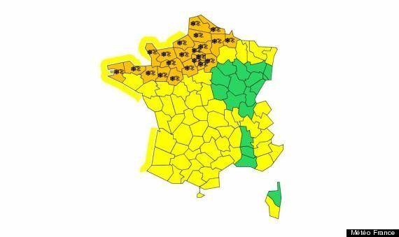 Neige et froid : 25 départements en alerte
