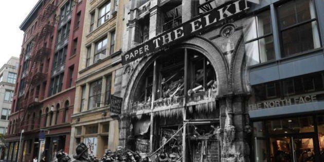 PHOTOS. New York: des faits divers du passé imbriqués dans la ville