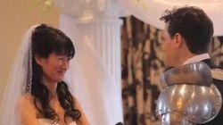 Quand des supers-héros tapent l'incruste dans un mariage, ça donne