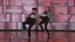 Ce duo de jeunes danseurs va vous en mettre plein la