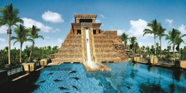 PHOTOS. Les parcs aquatiques de ces hôtels de rêve vont vous faire regretter les