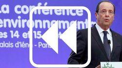 Conférence environnementale: retour accéléré sur celle de