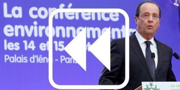 Conférence environnementale 2013: les engagements de 2012 à la