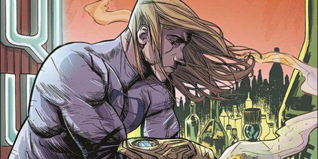 PHOTO. Un super-héros tient ses pouvoirs des drogues et de l'alcool dans le nouveau comics