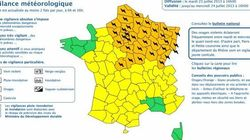 Orages: 21 départements du nord de la France en alerte