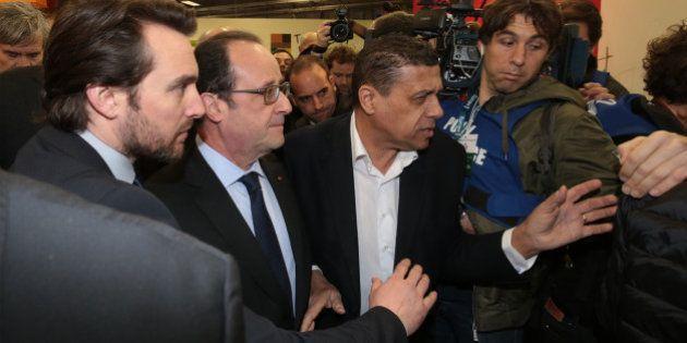 François Hollande arrive au Salon de l'agriculture sous les huées des
