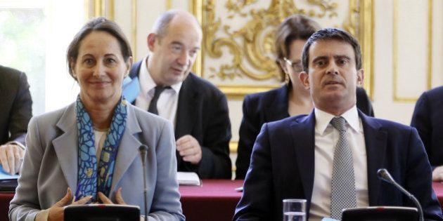 Ecologie: Valls et Royal présentent leur feuille de route sous la surveillance des