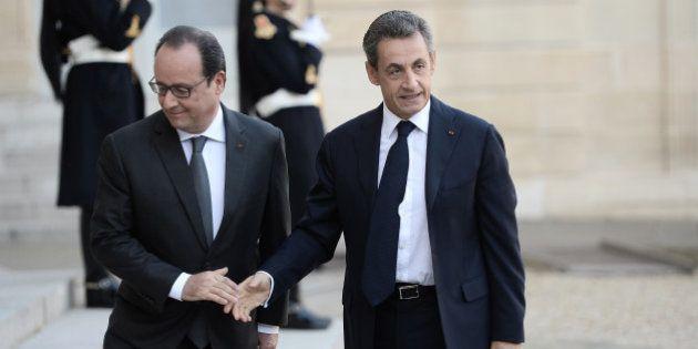 Nicolas Sarkozy éliminé au premier tour par François Hollande, selon un sondage pour