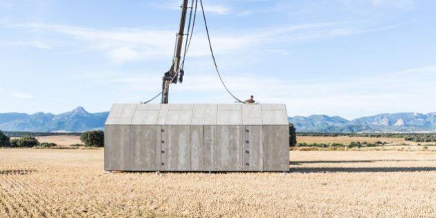 PHOTOS. Architecture insolite : APH80, le mobile-home au design étonnant montable en un