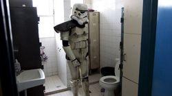 Quand tu es déguisé pour Star Wars et que tu dois aller aux
