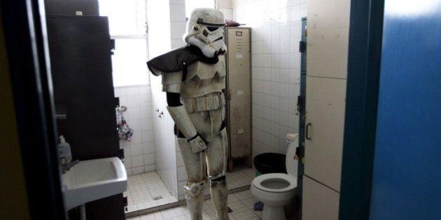 Quand tu t'es déguisé pour la première de Star Wars 7 et que tu dois aller aux