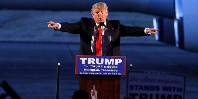 Trump refuse de prendre ses distances avec un ancien dirigeant du