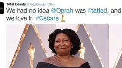 Confondre Whoopi Goldberg et Oprah Winfrey en pleine polémique, il fallait le