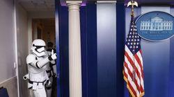 Des stormtroopers (et R2-D2) ont envahi la Maison