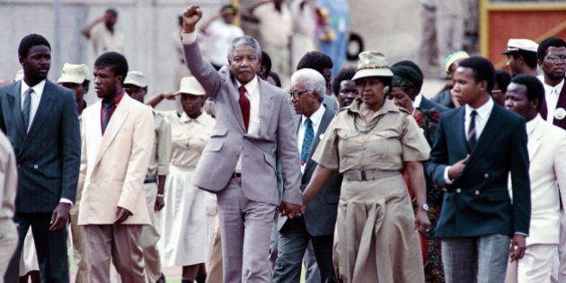 La vie de Nelson Mandela en