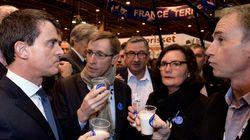 Manuel Valls est arrivé au Salon de