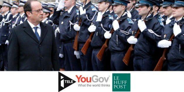 Terrorisme : 76% des Français pour l'indignité nationale, les mesures du gouvernement jugées