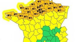 La Basse-Normandie quasi paralysée par la neige, 30 départements en