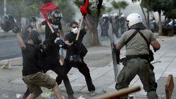 Heurts avec la police après des manifestations antifascistes en