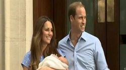 Kate et William présentent leur fils à la