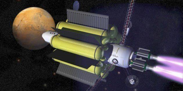 Voyage vers Mars: boucler la distance en seulement 39 jours? La Nasa finance un projet