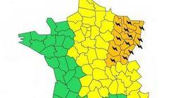 Orages: toujours 13 départements en alerte