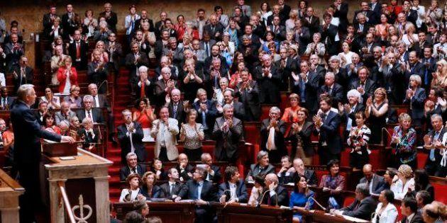François Hollande an I au Parlement: bazar parlementaire et travail