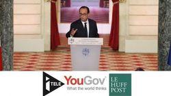 Hollande aborde sa 5e conférence de presse avec une cote au beau