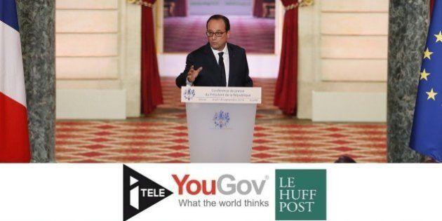 François Hollande aborde sa 5e conférence de presse avec une popularité au plus haut depuis deux ans...