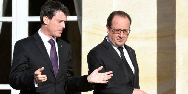 Fin de l'état de grâce post-attentats pour Manuel Valls et François Hollande dans les derniers
