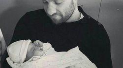 Mathieu Valbuena est papa pour la première