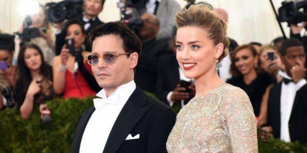Amber Heard et Johnny Depp se sont mariés à Los