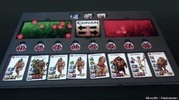 Conan: le bon vieux jeu de plateau français qui a levé 1,7 million de dollars sur