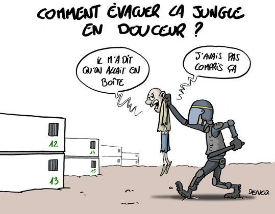 Peut-on évacuer la jungle de Calais en